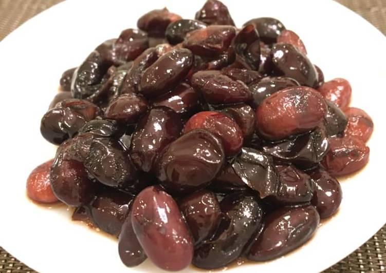 電 鍋 版 蜜 黑豆