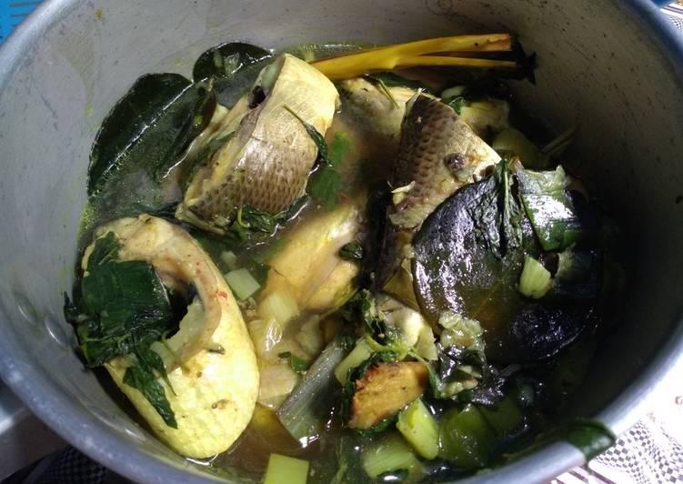Sup Bandeng Kemangi