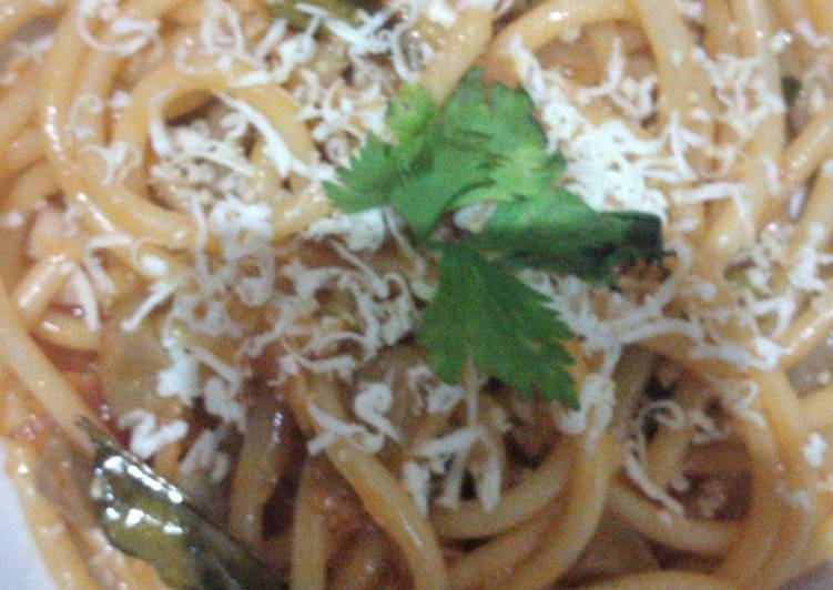 Spaghetti Rasa Seblak