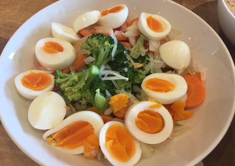 How to Prepare Speedy Broccoli and eggs salad