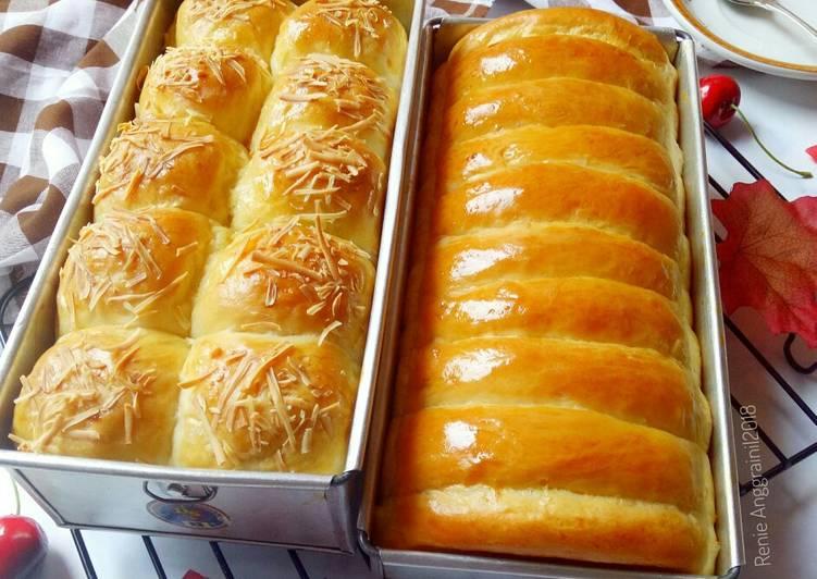Resep Roti Sisir Mentega oleh Renie Wisra - Cookpad