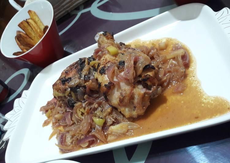 Recipe: Appetizing Poulet yassa (Sénégal)