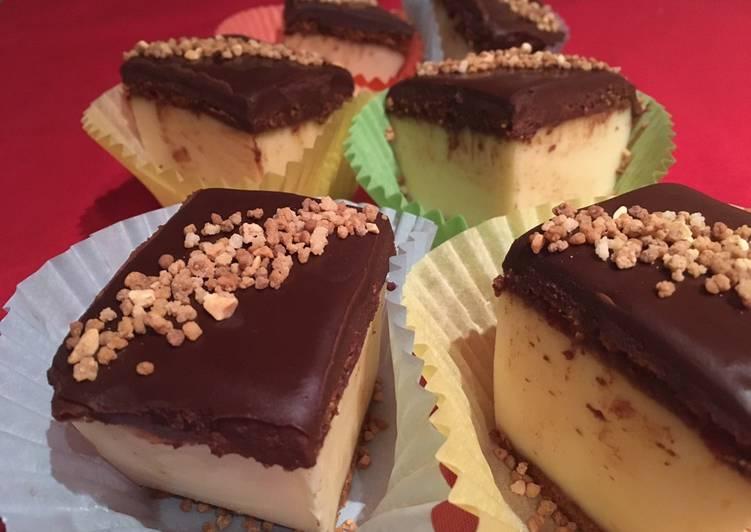 Pastelitos de crema y chocolate