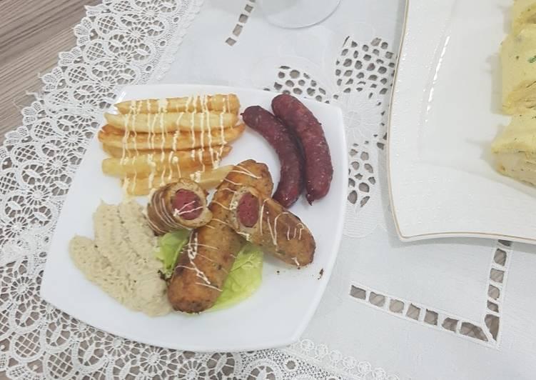 Le moyen le plus simple de Faire Savoureux Poulet farci à la saucisse