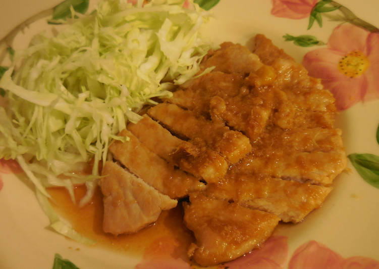 Steps to Prepare Most Popular Ginger Pork Saute (Shogayaki)