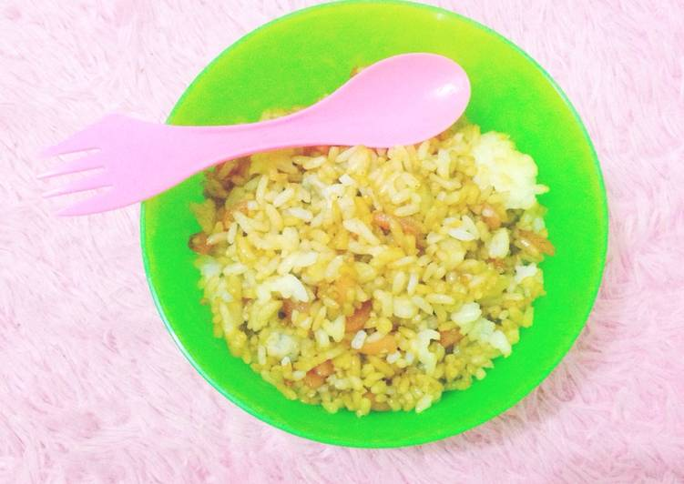 Resep Nasi goreng simple untuk balita Paling Mudah