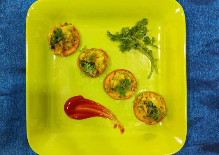 Top 100 Dinner Ideas Autumn Sev Puri Styled Samosa