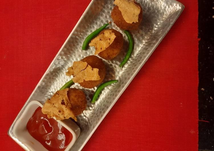 Recipe of Award-winning Dal Chawal Arancini #flavour1