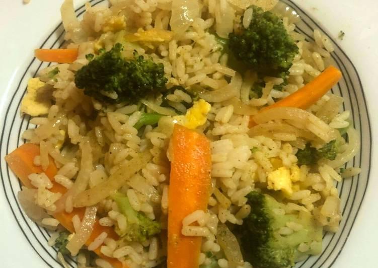Recettes Wok de légumes sautés et riz