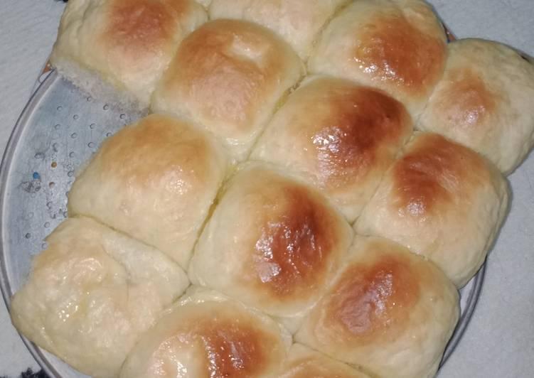 Roti sobek isi coklat sederhana enak lembut