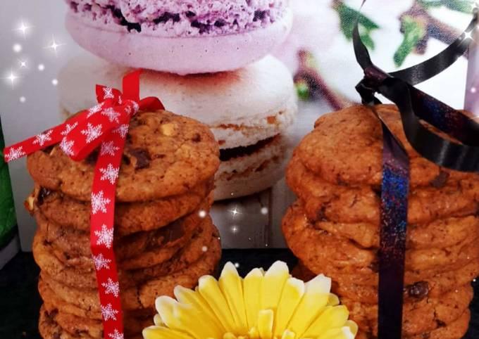 Cookies de Cyril Lignac revisités au Cook expert 😊