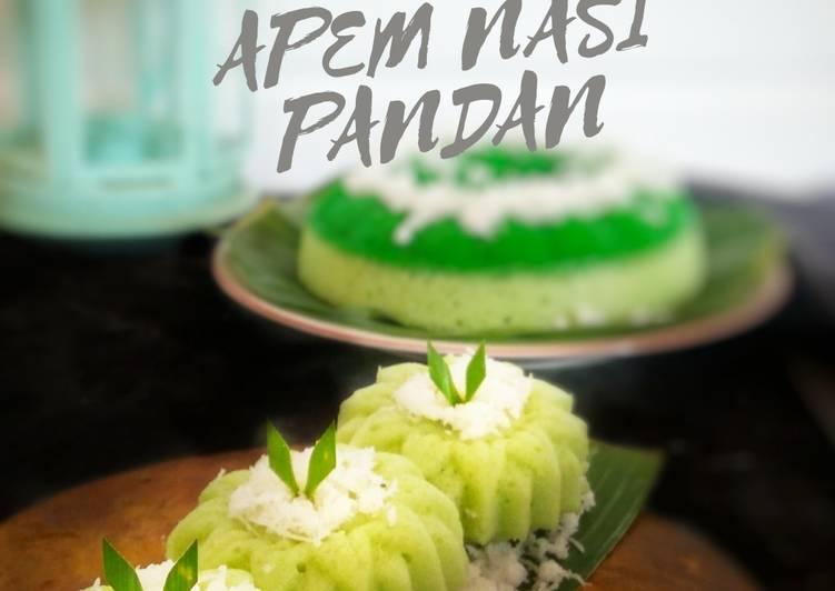 Apem Nasi Pandan Menul, Praktis (#cocomtangpost_warnahijau) - ganmen-kokoku.com