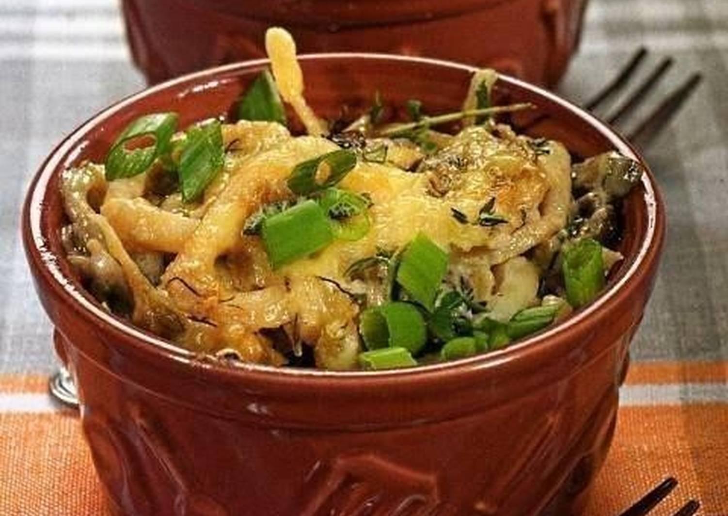 Рецепт жюльен из кальмаров с фото