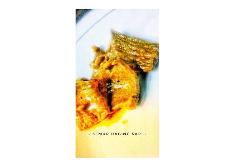 Semur Daging Sapi 🍖
