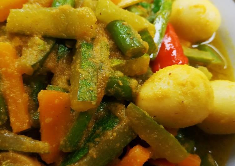 Sayur acar kuning - cookandrecipe.com
