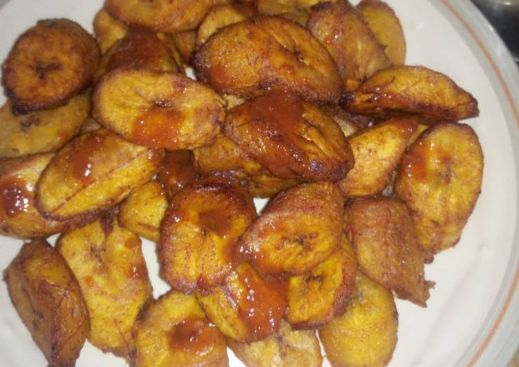 How to Make Any-night-of-the-week Maggi fried plantain