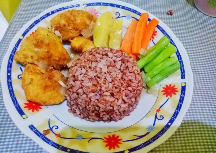 Chicken Steak Saus Lada Hitam ala Quick Chicken