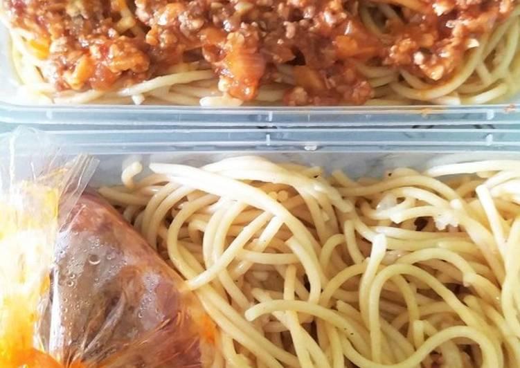 Spaghetti Bolognise Daging Cincang