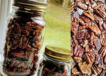 Easiest Way to Recipe Delicious Keto Candied Spiced Pecans