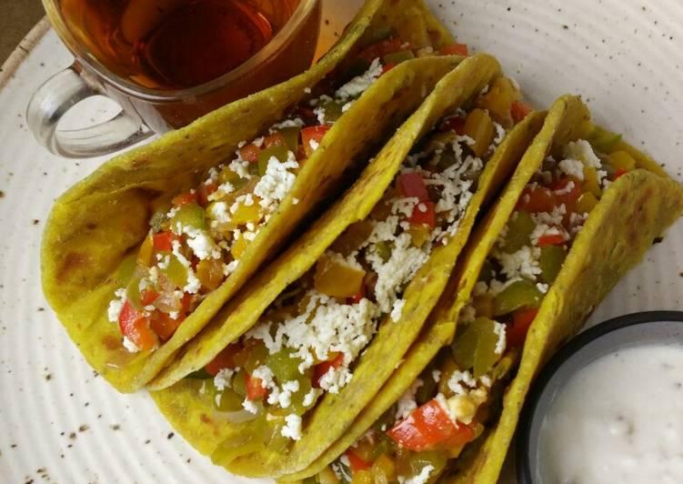 Veggie Thepla Taco