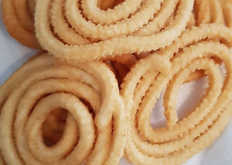 Recipe of Super Quick Homemade Murukku