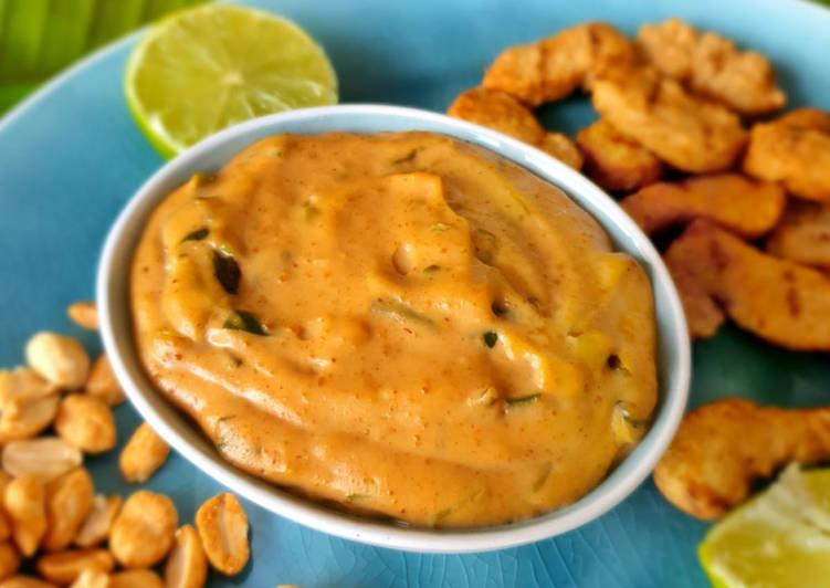 Easiest Way to Prepare Perfect Salsa de maní - Ecuadorianische Erdnusssauce