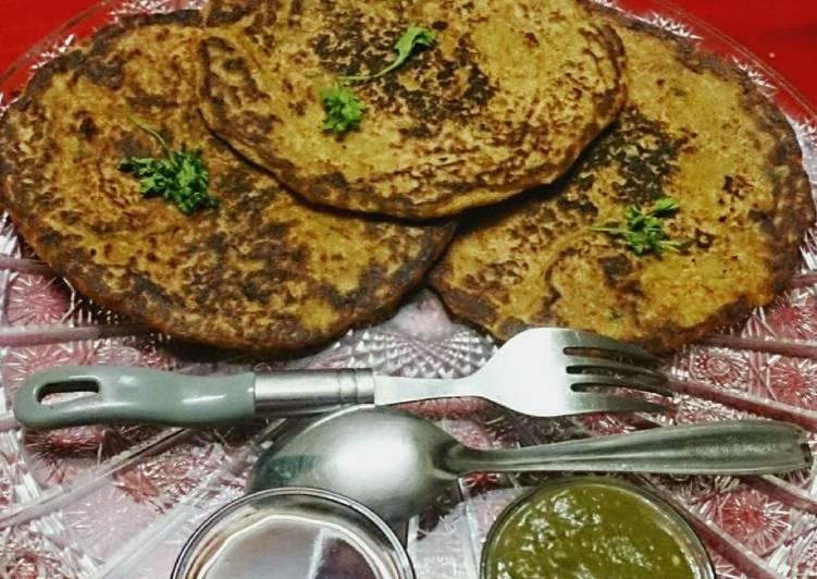 Healthy Oats Moong Dal Pancakes