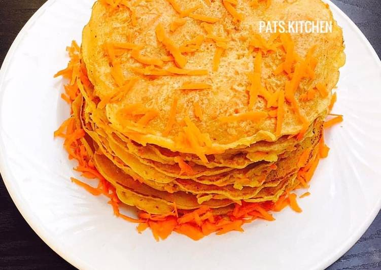 How to Boost Your Mood with Food Savoury Carrot Pancakes
