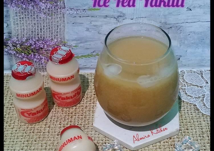 Ice Tea Yakult👩🍳