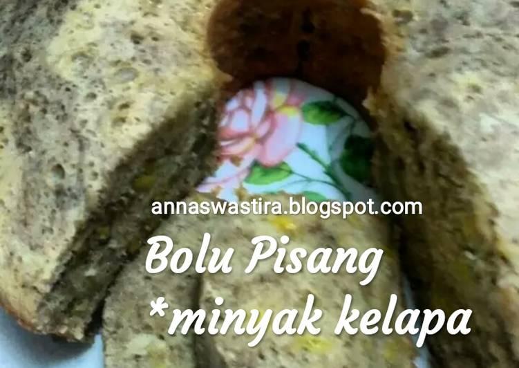 Bolu Pisang (*minyak kelapa)