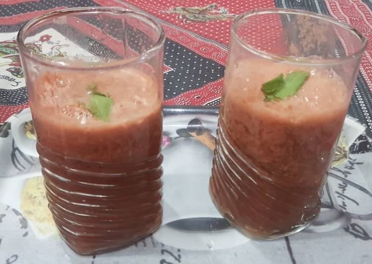 How to Make Tasty Watermelon cooler