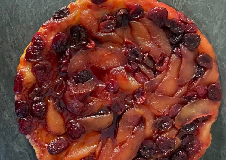 recette Tarte tatin pommes 🍏 cerises 🍒 Le plus simple
