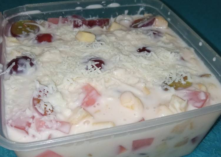 Salad Buah Jelly Lumer