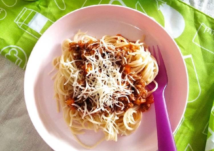 Favorit Keluarga : Spaghetti Bolognese