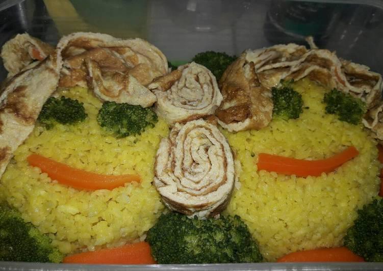 Bekal Sehat Nasi Kriwil anti Gagal, Anti Pepsin dan Aman juga un