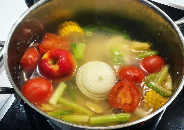 Sup sayur jagung sehat utk tubuh (imi thang)