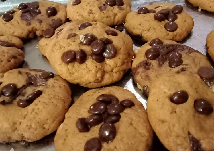 CCC : Chewy Chocochips Cookies - cookandrecipe.com
