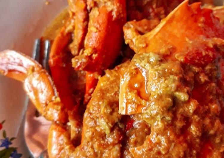 Kepiting/rajungan/katam asam manis pedas (saos padang)