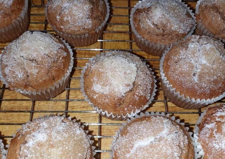 My chocolate doughnut style muffins