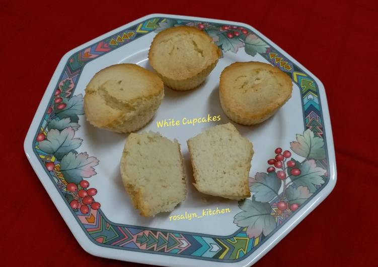Easiest Way to Prepare Speedy White Cupcakes