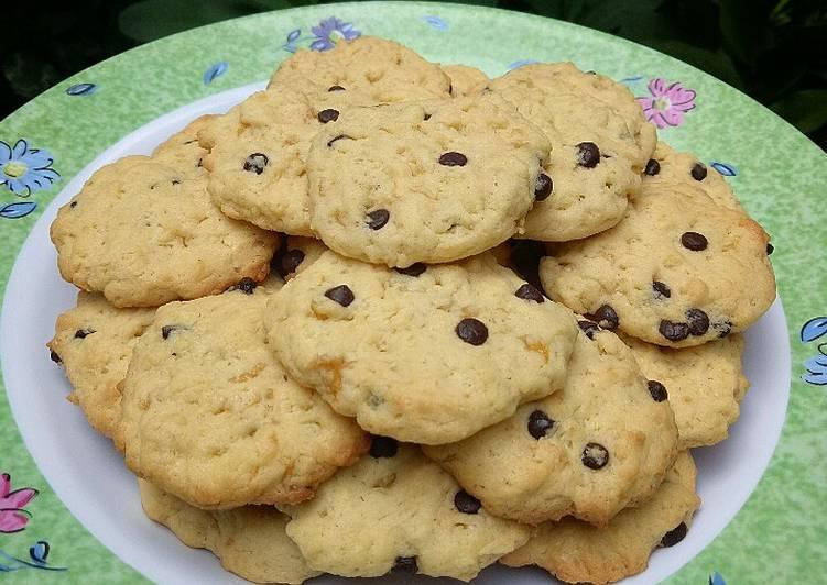 Resep Banana Chocolate Chip Cookies yang Enak Banget