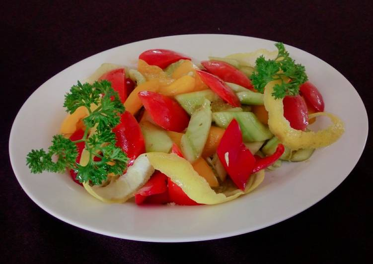 How to Cook Yummy Tossed Salad