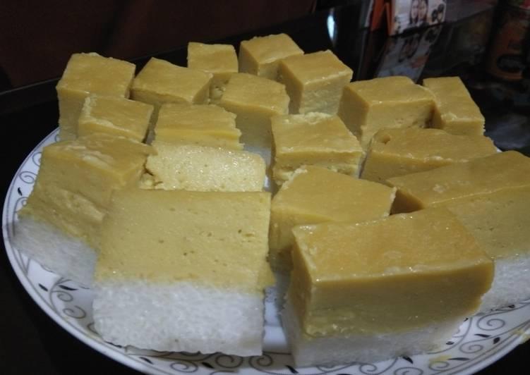 Talam durian lapis ketan