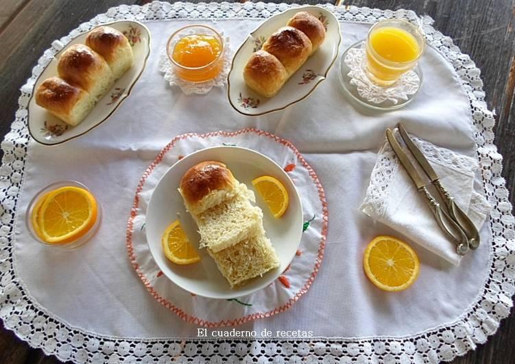 Brioche de aceite y naranja