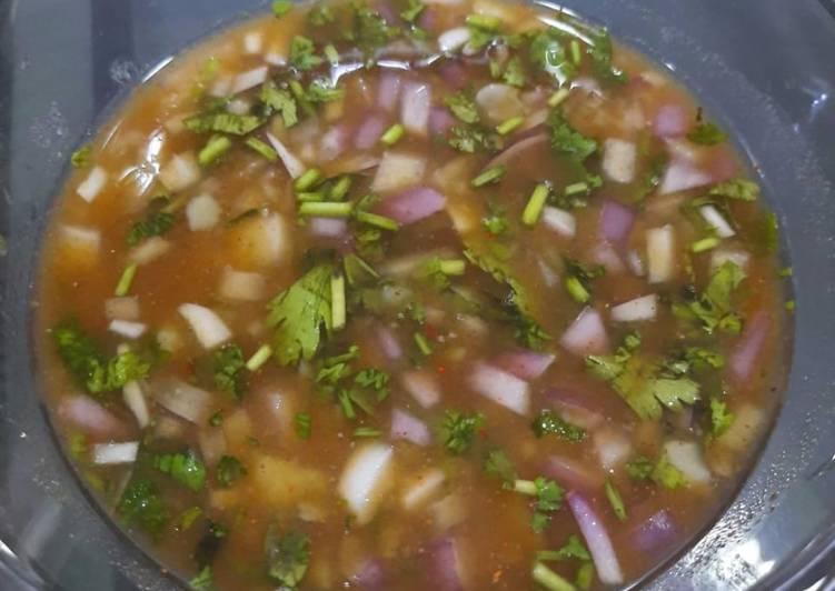 Recipe: Appetizing Tamarind (imli)onion /potato chutney