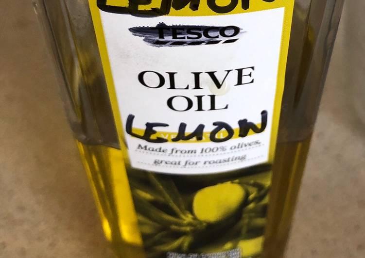 Easiest Way to Prepare Homemade Lemon Enthused Olive Oil