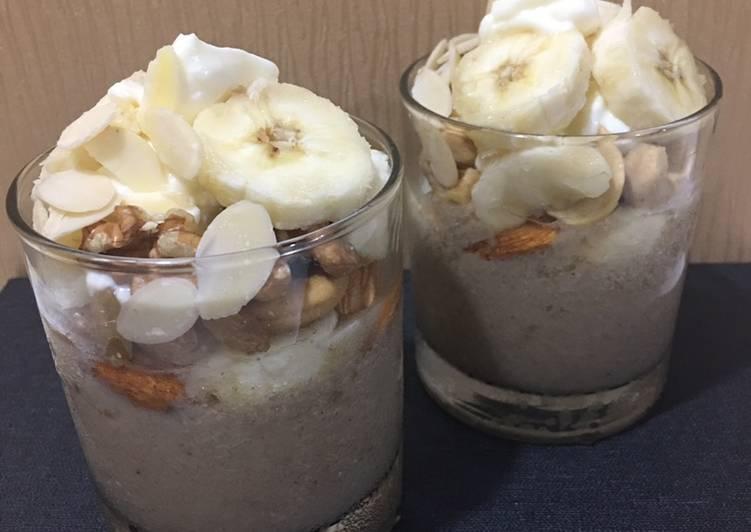 A Bit Healthier Banana Pudding