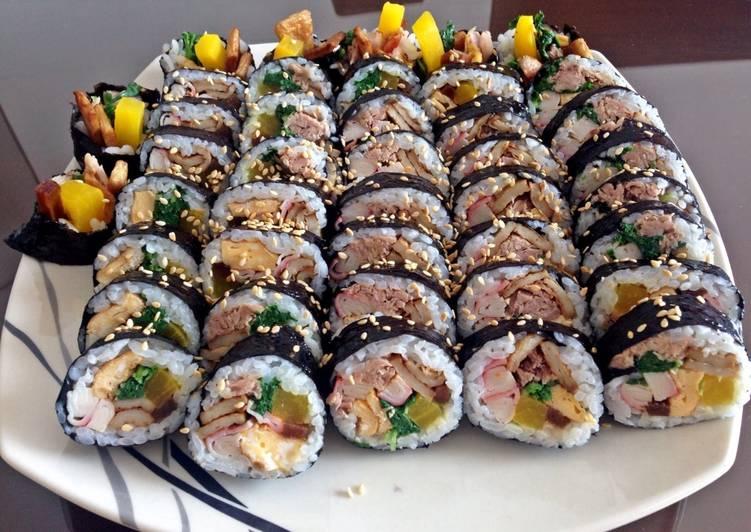 Korean Tuna Gimbab/ Kimbab