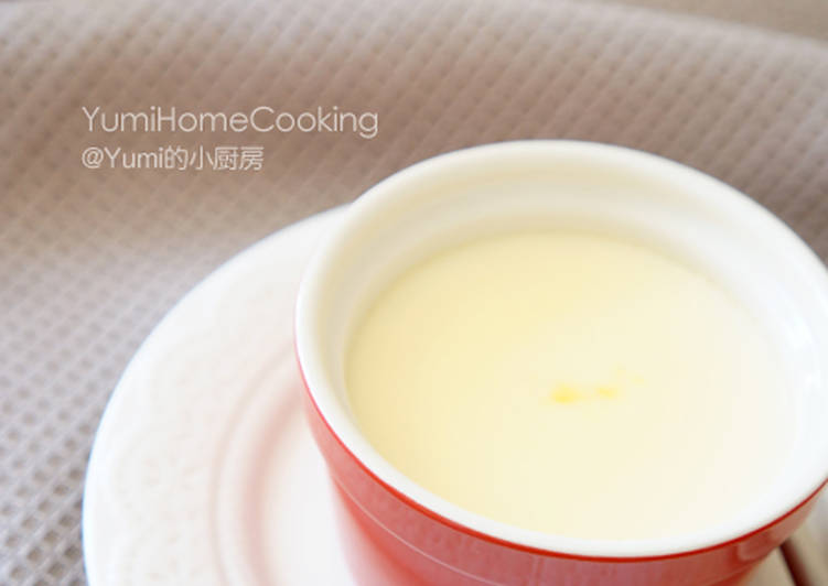 Steamed Egg With Milk