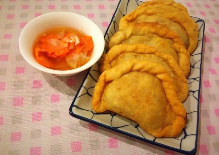Cách Làm Món Bánh gối ( Bánh quai vạc) của Tím Chiều - Cookpad